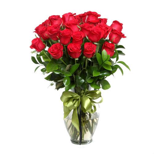 Arreglo Floral con 24 Rosas