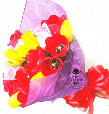 Ramo con 30 Tulipanes